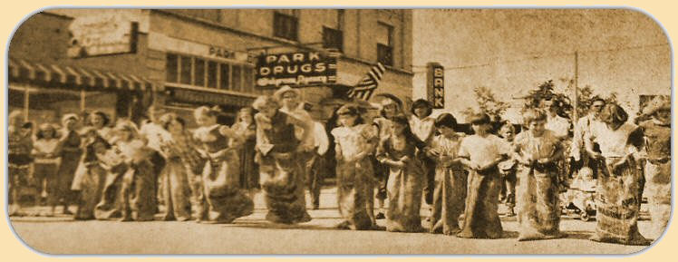 Old Time Sack Races