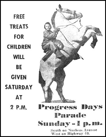 1956 Progress Days Ad